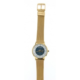 Le Carose watch ,Porto wild,  Milanese knit strap gold-plated  - SILM01