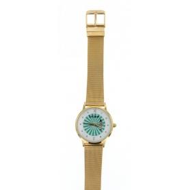 Le Carose Uhr, Porto Wild, Milanese Strickarmband vergoldet - SILM02