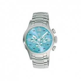 Breil Globe Chrono Watch, light blue steel - 2519774074