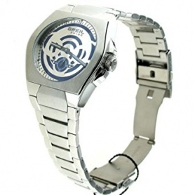 Breil Tribe Icon watch, man, blue and silver - TW0536