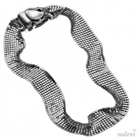 Breil Steel Silk necklace, woman, soft, mesh steel mesh - TJ1226