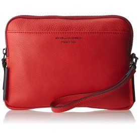 Piquadro, Sirio Pochette, to wrist, red leather - AC3944W72 / R