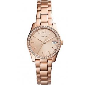 Orologio Fossil donna in acciaio rosè Scarlette - ES4318