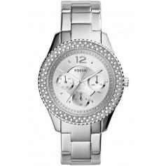 Fossil watch woman, in steel, Stella - ES3588