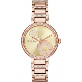 Michael Kors women's watch, in rosé steel, Courtney