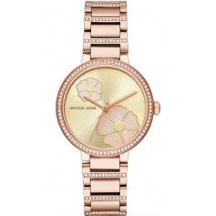 Michael Kors women's watch, in rosé steel, Courtney