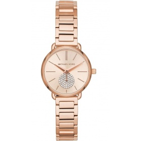 Michael Kors watch, woman, rosé, Portia Petite