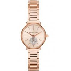Michael Kors watch, woman, rosé, Portia Petite