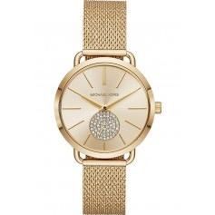 Michael Kors watch in golden steel Portia - MK3844
