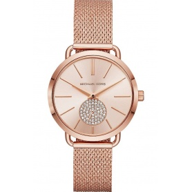 Michael Kors watch in rosé steel Portia - MK3845