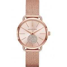 Michael Kors watch in rosé steel Portia - MK3845