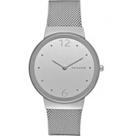 Skagen Uhr nur Zeit, Freja, Stahl - SKW2380