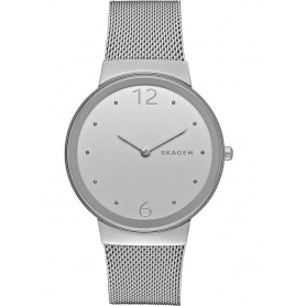 Skagen watch only time, Freja, steel - SKW2380