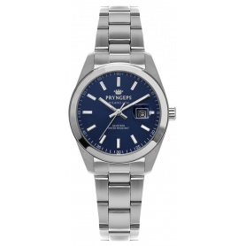 Pryngeps DateJust woman's watch blue dial  A1036