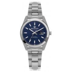Pryngeps DateJust woman's watch blue dial A1036