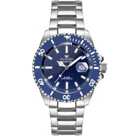 Pryngeps Submariner Mediterranean Uhr Blaues Zifferblatt