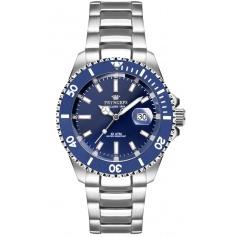 Pryngeps Submariner Mediterranean watch Blue dial