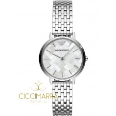 Emporio Armani watch, woman, mother of pearl - AR11112