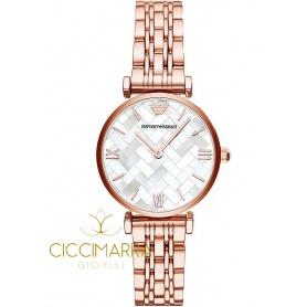 Emporio Armani Uhr, Frau, Perlmutt rosè AR11110