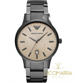 Emporio Armani watch, man, gun barrel - AR11120
