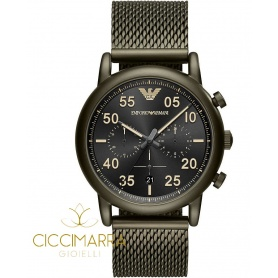 Orologio Emporio Armani uomo mesh verde - AR11115