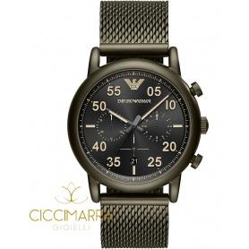 Emporio Armani watch, man, green mesh - AR11115