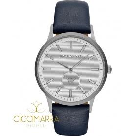 Emporio Armani watch, man, blue leather - AR11119