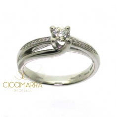 Salvini ring , 30Years New York, with brilliant - 81066564