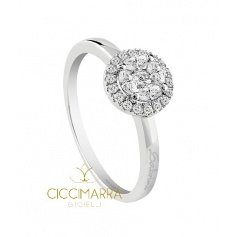 Salvini ring, Cleofe with diamonds - 20066761