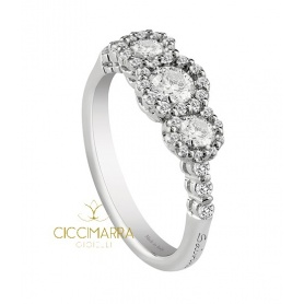 Salvini ring, Corona Ext with diamonds - 20067432