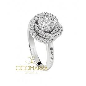 Salvini ring, Daphne Flower with diamonds - 20075166