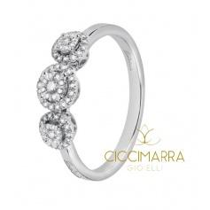Salvini ring, Daphne Style with diamonds - 20060037
