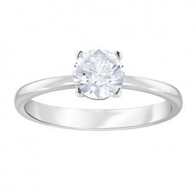 Swarovski anello solitario pietra centrale Attract  - 5368542