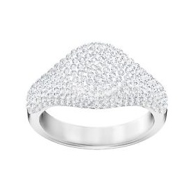 Swarovski anello Stone Signet bianco argentato - 5409179