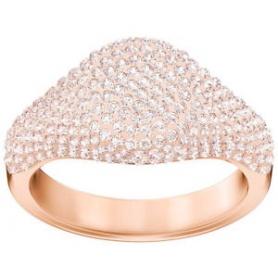 Swarovski anello Stone Signet rosa placcato oro rosa - 5406219
