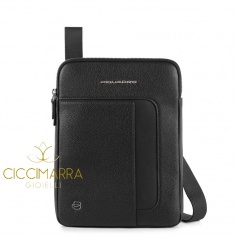 Man bag, Piquadro Erse, with three compartments - CA3978S95 / N