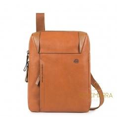 Man shoulder bag, Piquadro Pan, expandable - CA4306S94