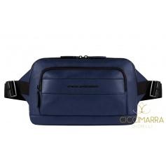 Pouch man, Piquadro Setebos, blue - CA4267S96 / BLU