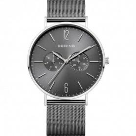 Bering Uhr, Mann, Stahl, Milanese Strickband, brüniert - 14240-309