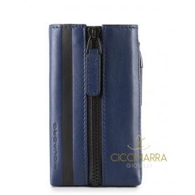 Portachiavi Piquadro Setebos blu - PC4302S96/BLU