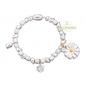 Bracciale Queriot Giulia Top con Rosa, Loto, Margherita e beads