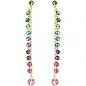 Swarovski multicolored dangle earrings Attract - 5402030