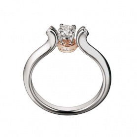 Salvini Mon Amour ring with diamonds - 20026393