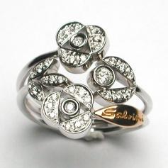 Salvini Provence ring with diamonds - 20021464