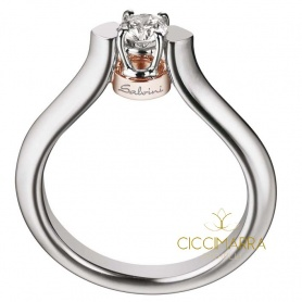 Salvini Toujours ring with brilliant - 20026373