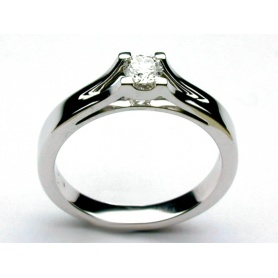 Salvini Solitaire ring Assolo with brilliant - 20001552