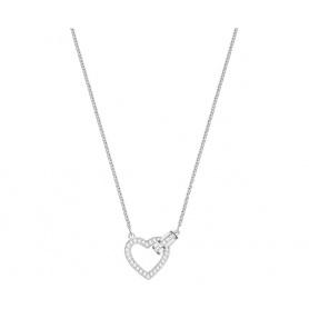 Swarovski Halskette Schönes versilbertes Herz - 5380703