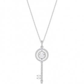 Swarovski Halskette, funkelnden Tanz, versilberter Schlüssel - 5368263