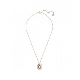 Swarovski collana Greeting Ring, pendente spirale rosè - 5394969