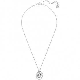 Swarovski Greeting Ring Halskette, Spirale Anhänger Silber - 5380554